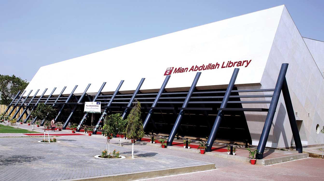 Mian Abdullah Library at IBA